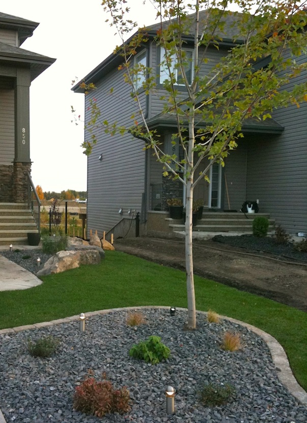 Landscaping Plans Edmonton : Accent landscape creations ltd is a family run local business based